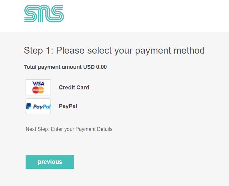 クレジットカードとPayPal決済